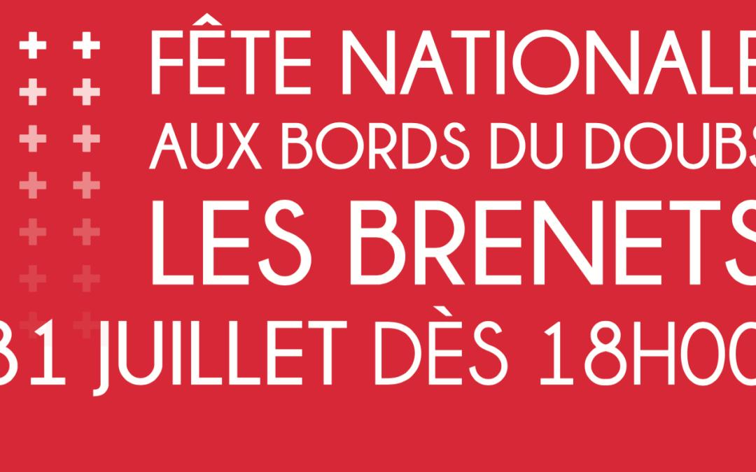 Fête nationale Suisse aux bords du Doubs