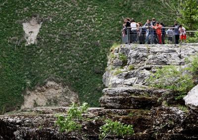 Saut du Doubs côté Suisse